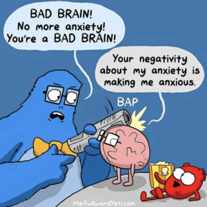 Comic by Awkward Yeti about anxiety/fear