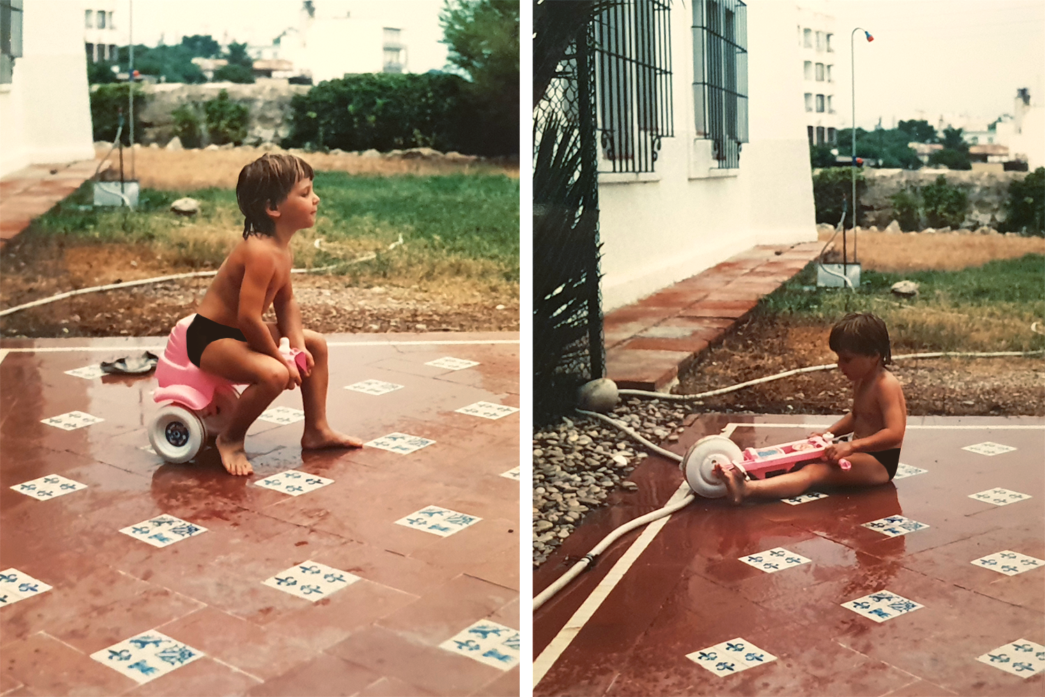 Me in Spain as a toddler