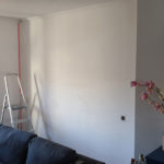 The wall, before